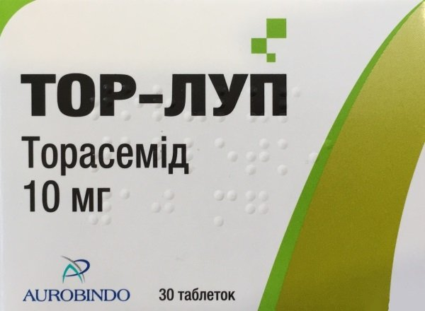 Tor-Lup tablets 10 mg. №30