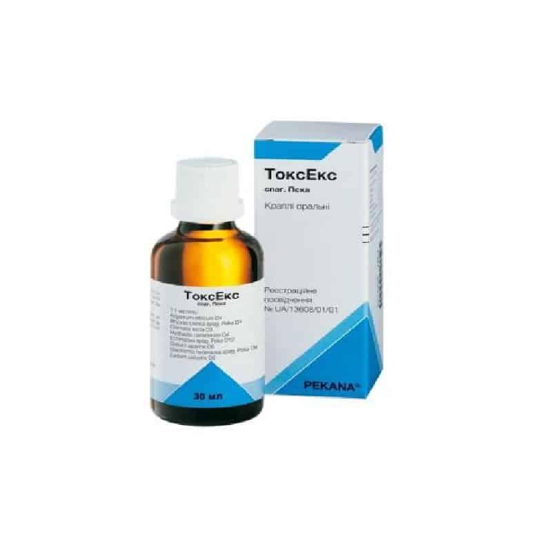 ToxEx Peca oral drops 30 ml. vial