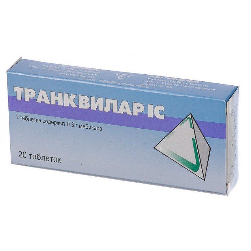 Trancvilar tablets 0.3 №20