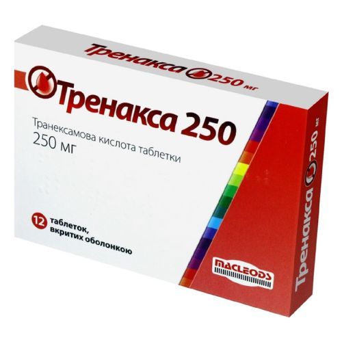 Trenaxa 250 coated tablets 250 mg. №12