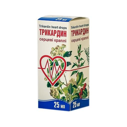 Tricardin drops 25 ml.