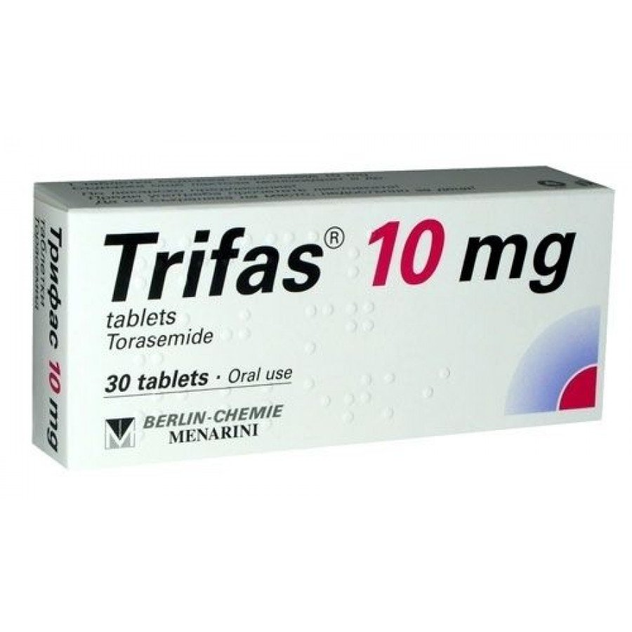 Trifas-10 tablets 10 mg. №30