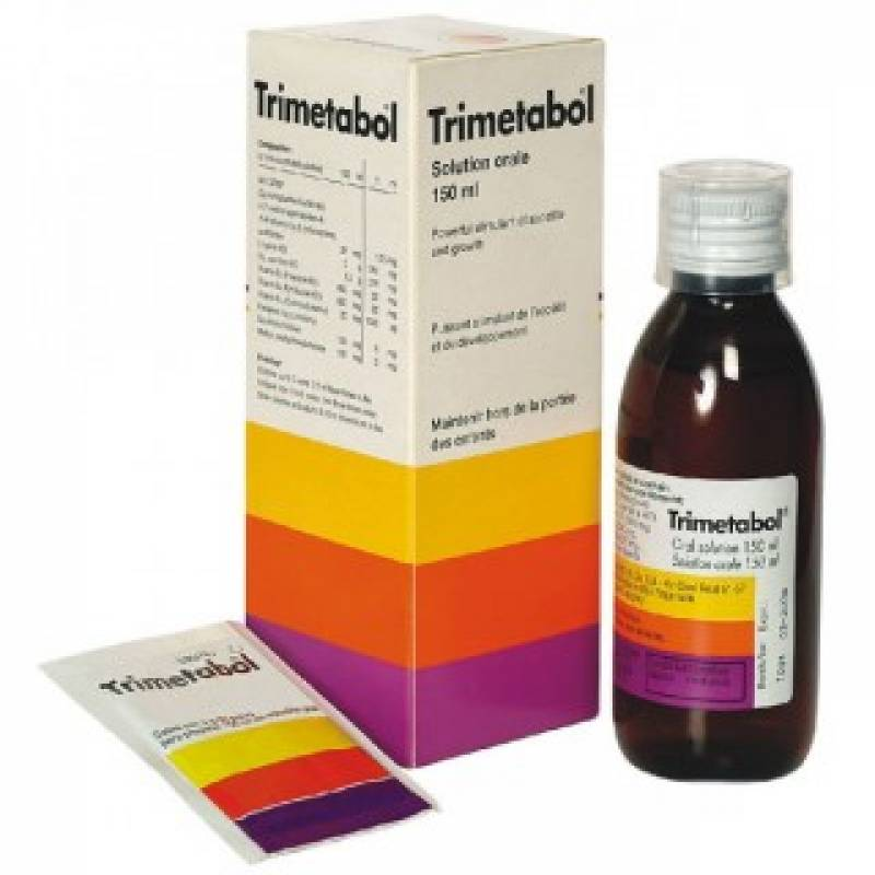 Trimetabol solution 150 ml. vial