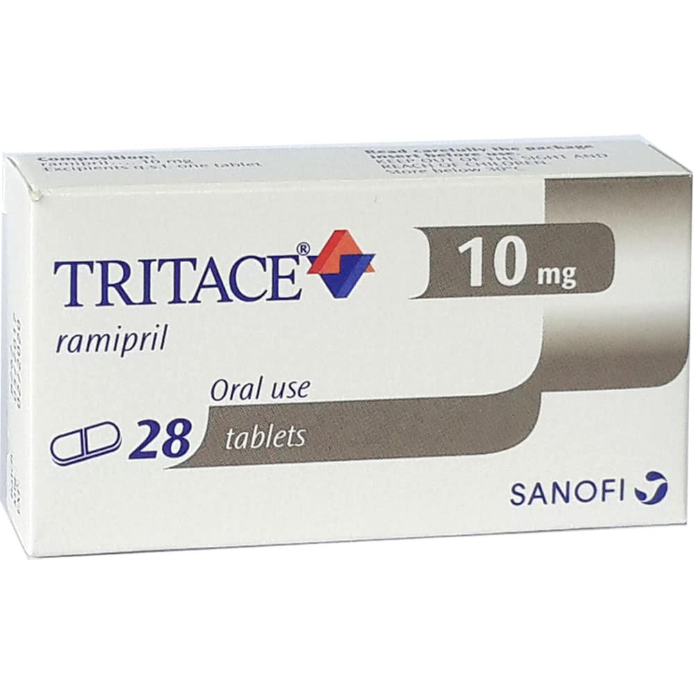 Tritace tablets 10 mg. №28