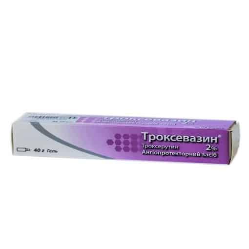 Troxevazin gel 2% 40 g.