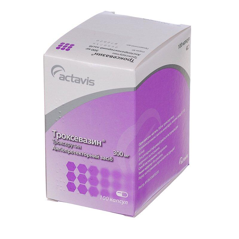 Troxevazin capsules 300 mg. №100