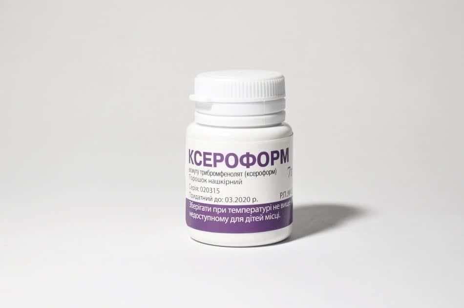 Ceroform (bismuth tribromophenate) powder for external use 7g