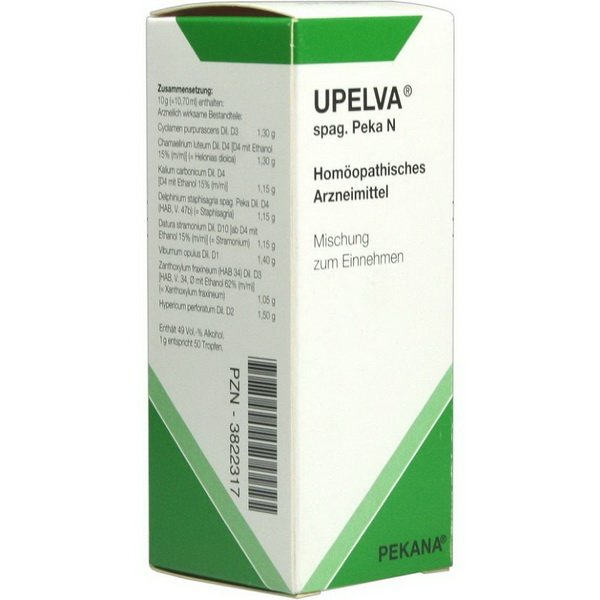 Upelva (Cyclamen purpurascens) Spag peca oral drops 30 ml. vial