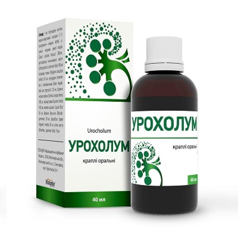 Urocholum (dauci carotae fructus) oral drops 25 ml.