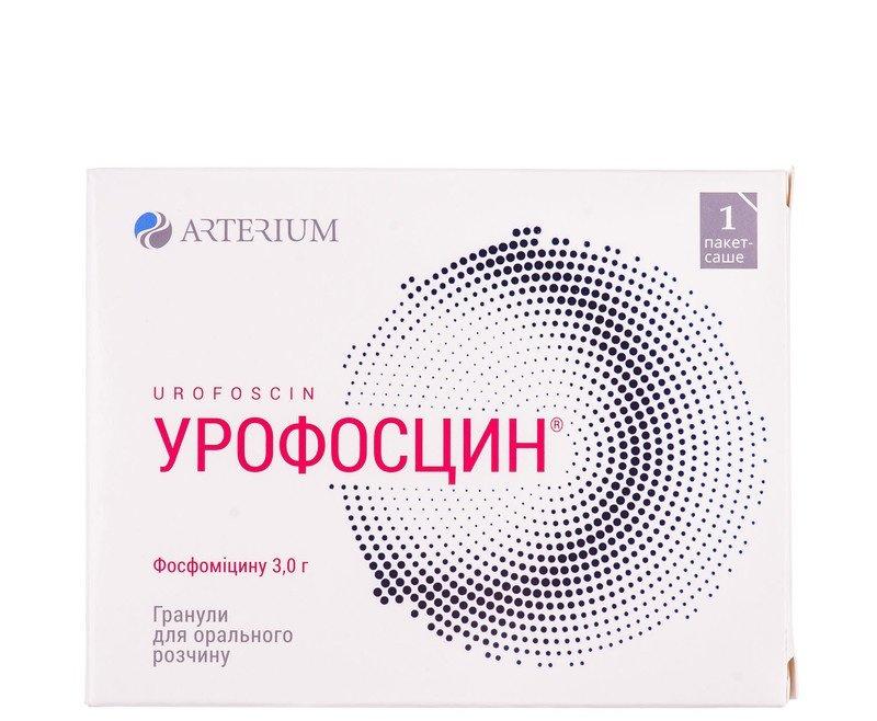 Urofoscin (fosfomycin) granules for oral suspension 3g. sackets №1