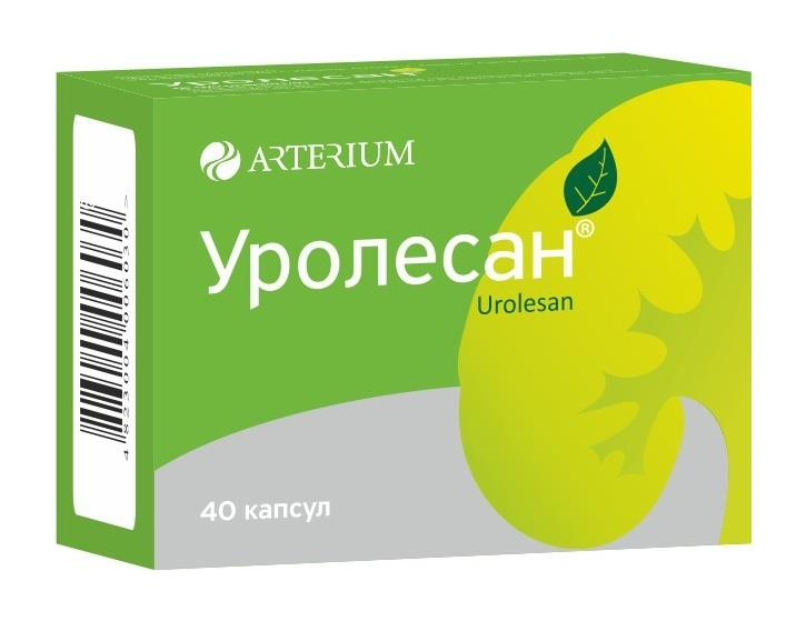 Urolesan (abiesis oleum) capsules №40