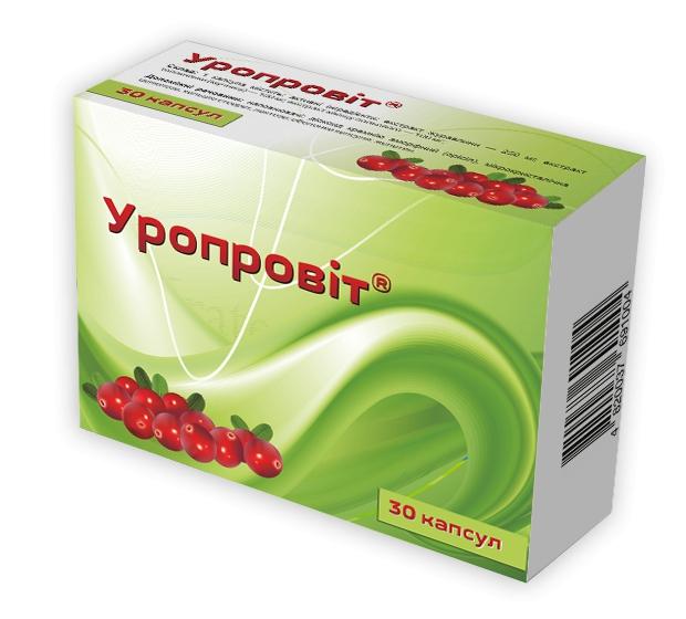 Uroprovit (cranberry extract) 480 mg. №30