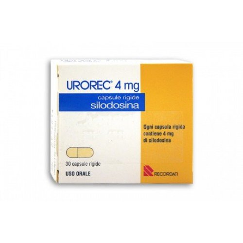 Urorek (silodosin) hard capsules 4 mg. №30
