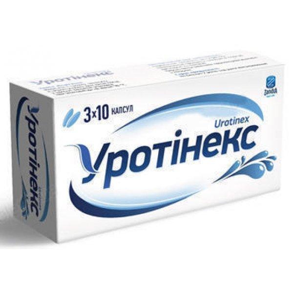 Urotinex (pinene) capsules 425 mg. №30