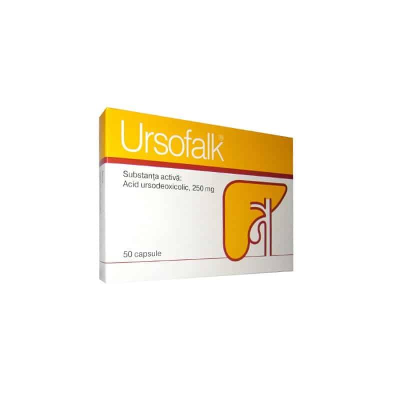 Ursofalk (ursodeoxycholic acid) capsules 250 mg. №50