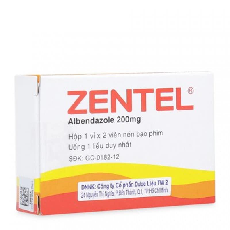 Zeptol (albendazole) tablets 200 mg. №100