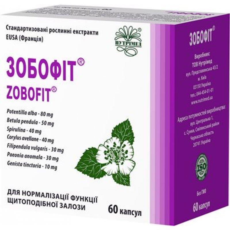 Zobofit (potentilla alba) capsules №60