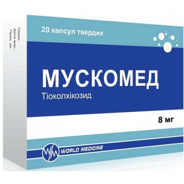 muscomed-hard-capsules-8-mg-n20