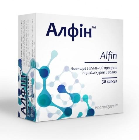 Alfin (African plum extract) capsules №30
