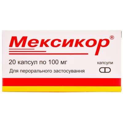 mexicor-capsules-100-mg-n20