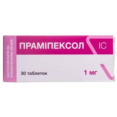 Pramipexol IC (pramipexole) tablets 1 mg