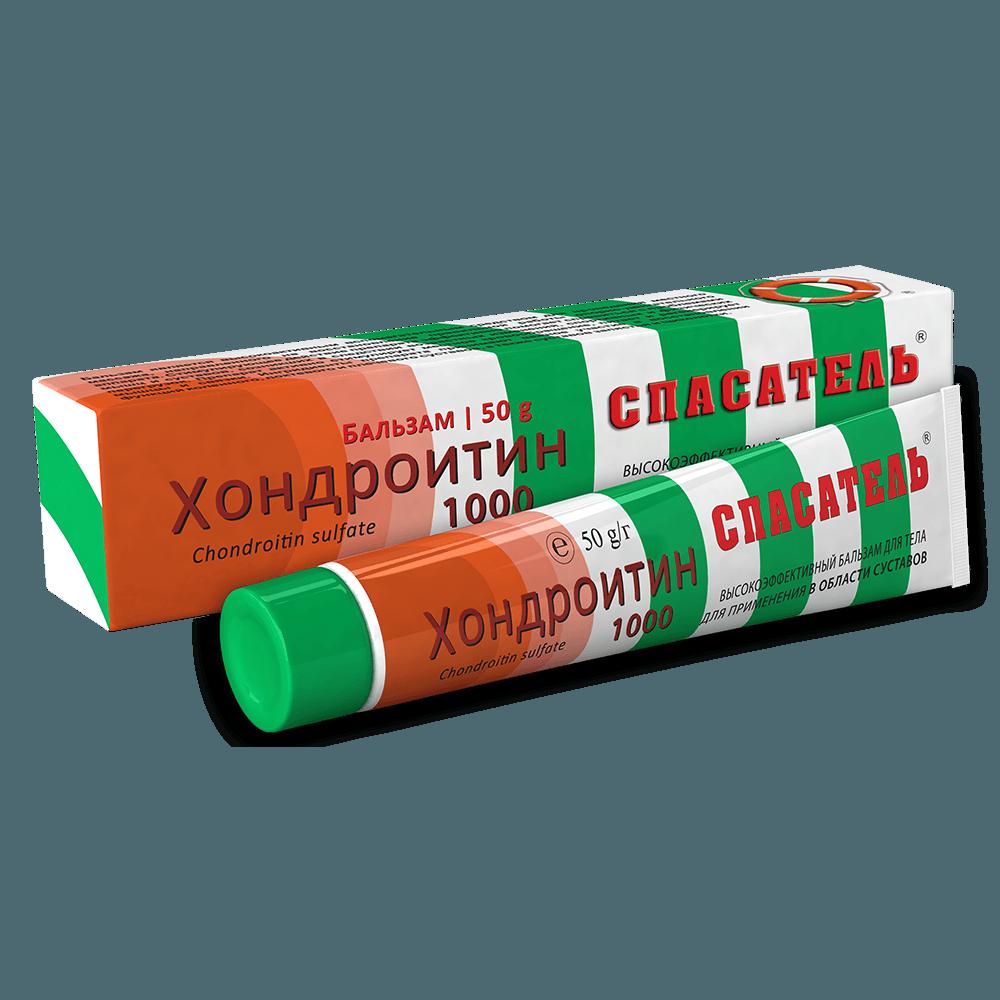 Spasatel (chondroitin sulfate) Chondroitin 1000 balm 50 g.